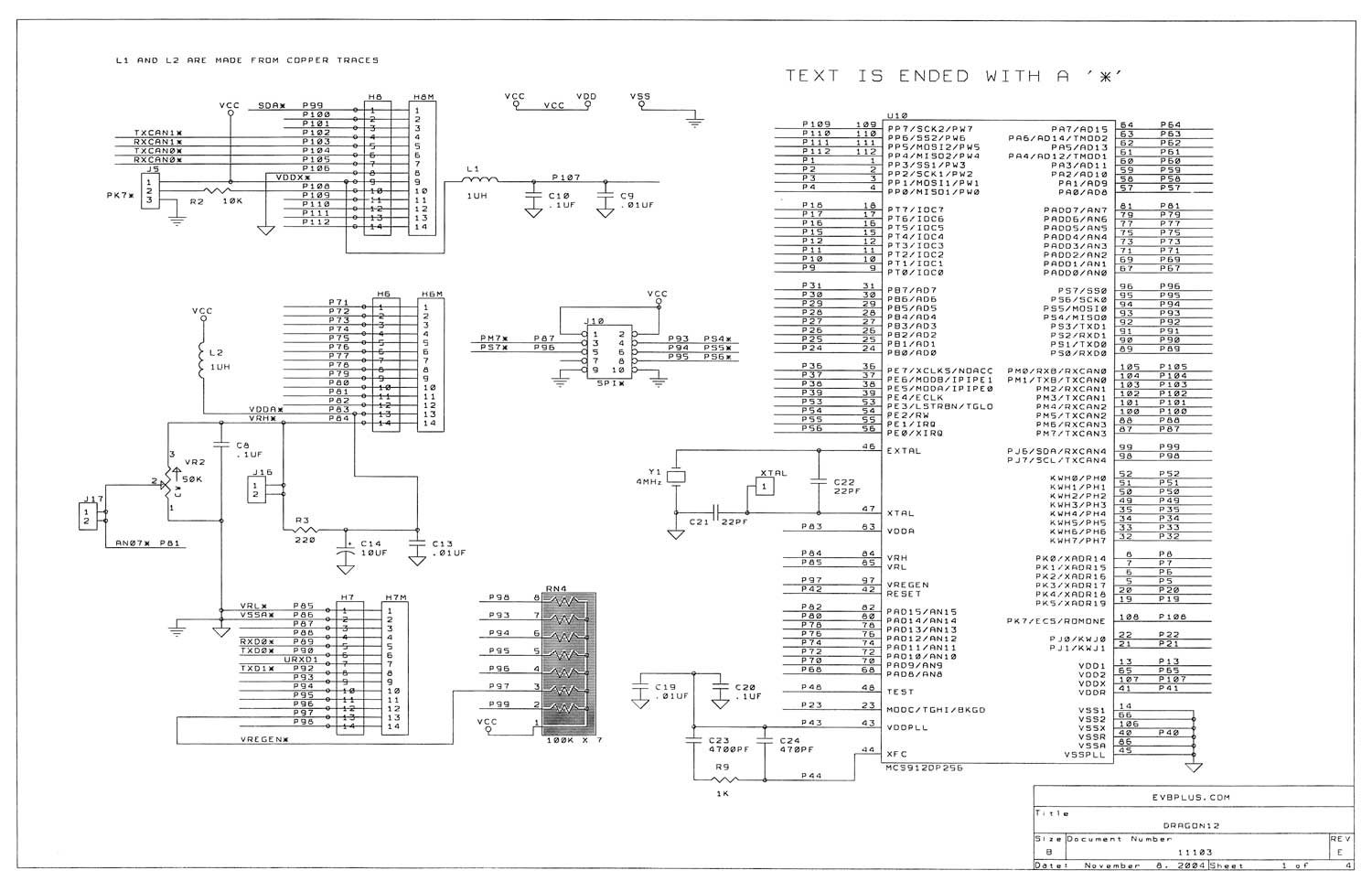 Pwm Intro Following Is The Schematic Of Voltage Controlled Generator Dragon12 1 Reve